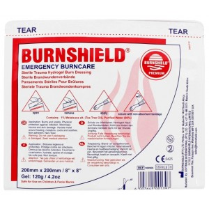 Burnshield pjenasta obloga za opekline | 200 x 200 mm