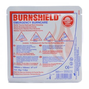 Burnshield pjenasta obloga za opekline | 100 x 100 mm