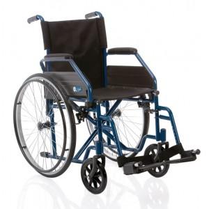 Sklopiva invalidska kolica START | plave boje | širina sjedišta 40 cm