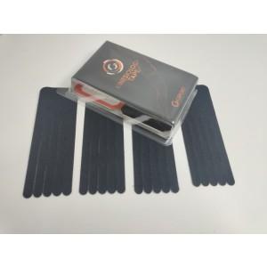 Kineziološke trake | unaprijed profesionalno izrezane | oblik ŠAPA - 4 komada | crna