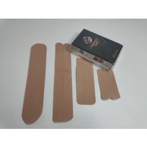 Kineziološke trake | unaprijed profesionalno izrezane | Set traka - I, Y, X i Šapa | bež boje