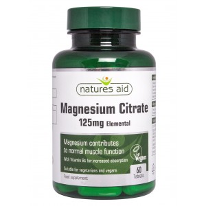 Magnezijev citrat 125 mg + Vitamin B6
