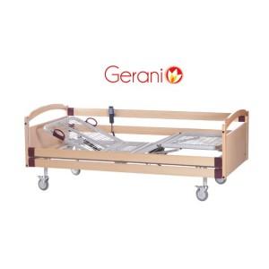 Električni bolnički krevet drvenog okvira