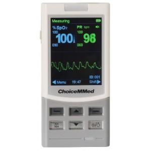 ChoiceMMed MD300M oksimetar za intenzivnu uporabu | sa sondom za odrasle