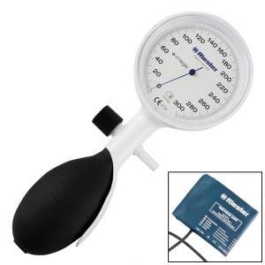 Tlakomjer na pero Riester E-Mega, 1 izvod, manžeta na čičak