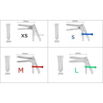 Grafikon širine spekuluma i boje sigurnosnog ključića