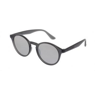 Tamno sivi okvir sa srebrnim ravnim lećama s efektom zrcala