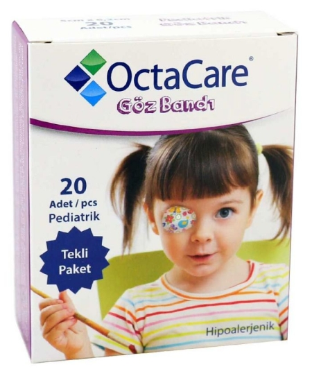 Dječji flasteri za oko, za curice, 20 komada u pakiranju