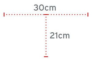 Dimenzije baze štapa RP721
