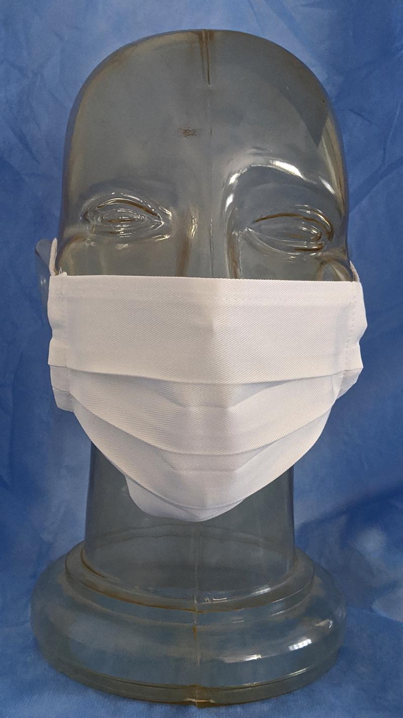Maska za lice od medicinskog pamuka - za višekratnu upotrebu