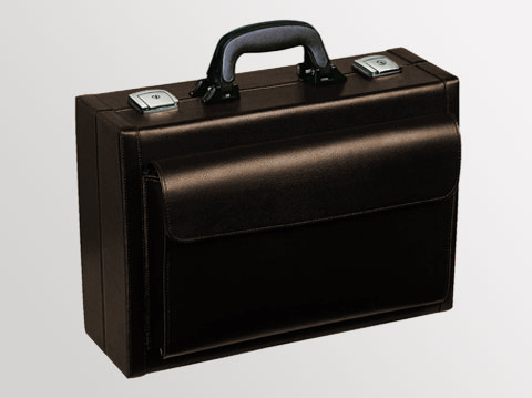 Liječnički kofer Visita | Umjetna koža-smeđi