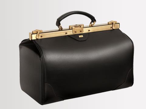 Liječnički kofer | Crni 23 cm