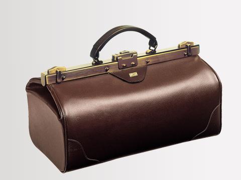 Liječnički kofer | Smeđi 18 cm