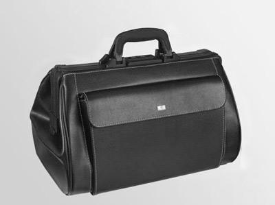 Liječnički kofer | Koža-crni