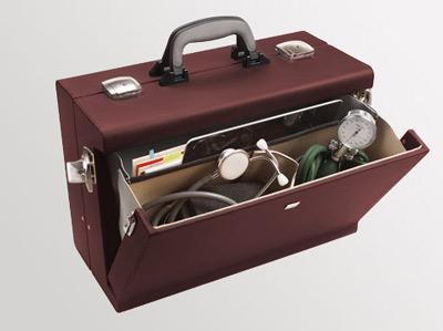 Liječnički kofer Medica 2000 | Bordo