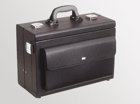 Liječnički kofer Medica 2000 | Crni + prednji džep