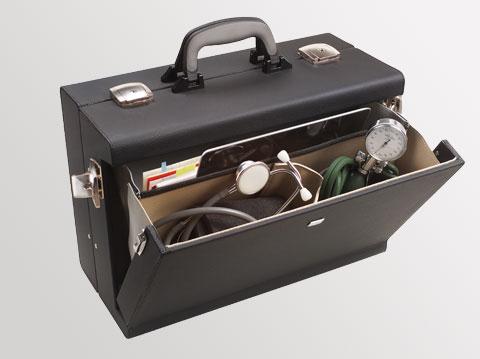Liječnički kofer Medica 2000 | Crni
