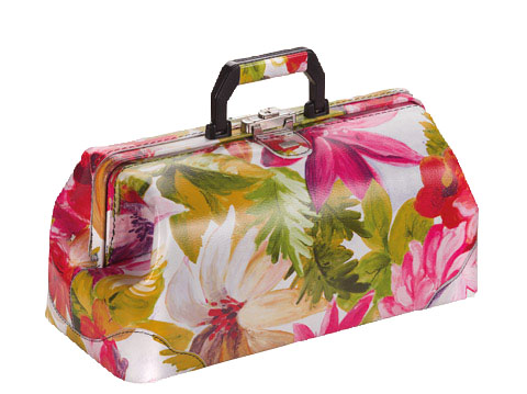 Liječnički kofer | Koža-cvjetni