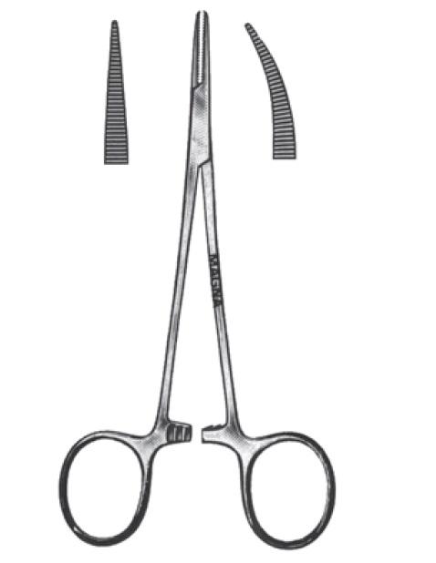 Hvatalica za arterije po Kocheru | Ravna