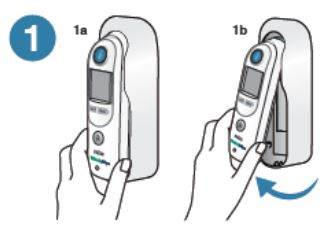Welch Allyn Braun ThermoScan PRO 6000 toplomjer za mjerenje temperaturu u uhu