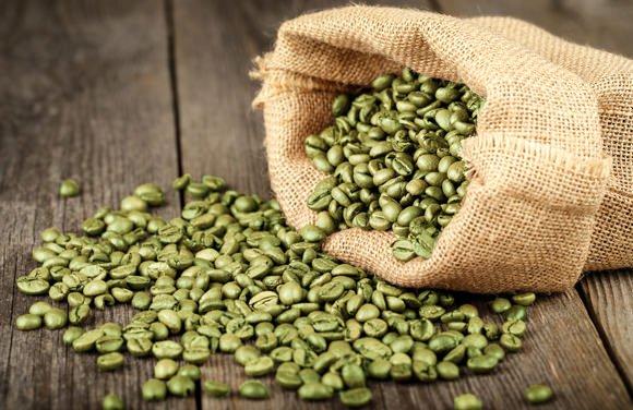 zelena kava zrna